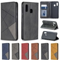 For Samsung A20e Case Samsung A20 Case Magnetic Leather Flip Phone