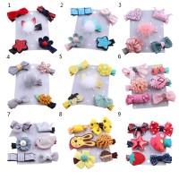 Set Jepit Rambut Model Kartun Lucu untuk Bayi / Anak Perempuan