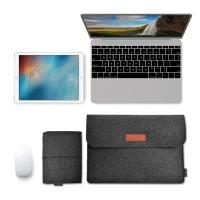 JOGJA Sleeve Case Laptop Macbook 13 Inch with Pouch - AK01