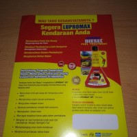 lupromax Diesel Fuel Treatment Terjamin