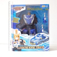 Mainan action figure robot legend hero legend king tiger original