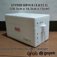 Styrofoam Box KIS Kecil (28,5x16,5x15)