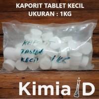Kaporit Tablet Kecil - 1 Kg - Pembersih Saluran Air Klorin Tablet