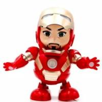 Mainan Anak Cowok Cewek Dancing Hero Ironman Joget