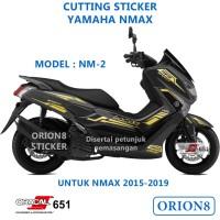 Cutting sticker yamaha nmax NM2 stiker variasi skotlet stripping NM2