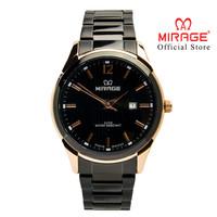 Mirage Jam Tangan Pria 7570M Black/RoseGold