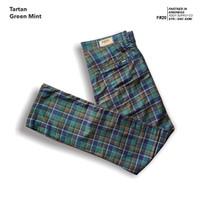 fruddy duddy - fddy - tartan - pants - green mint