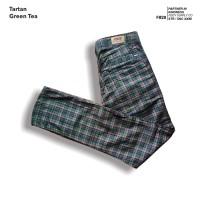 fruddy duddy - fddy - tartan - pants - green tea