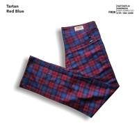 fruddy duddy - fddy - tartan - pants - red blue