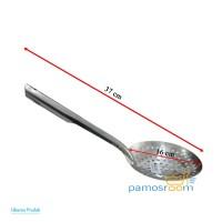 Pamos Serokan Mie Saringan Mie Ayam Pangsit Stainless Diameter 16cm