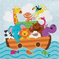 Tisu Lunch Tema Noah's Ark - Perlengkapan Pesta Ulang Tahun