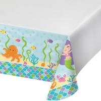 Taplak Meja Tema Mermaid Friend - Perlengkapan Pesta Ulang Tahun