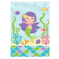 Pembungkus Souvenir Tema Mermaid Frien- Perlengkapan Pesta Ulang Tahun
