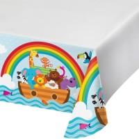 Taplak Meja Tema Noahs Ark - Perlengkapan Pesta Ulang Tahun
