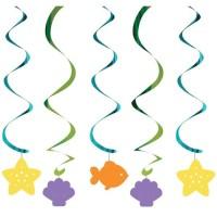 Gantungan Tema Mermaid Friend - Perlengkapan Pesta Ulang Tahun