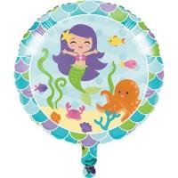 "Balon Foil 18"" Tema Mermaid Friend - Perlengkapan Pesta Ulang Tahun"