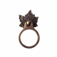 """6 """" Tarikan Laci Peti Pintu Lemari / Desk Ring Pull - HRP2170 Oakleaf"""