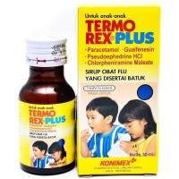 Termorex Plus Sirup Obat Batuk Demam Pilek Flu Anak 60 mL