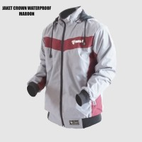 JAKET CROWN OUTDOOR WATERPROOF -Triple F