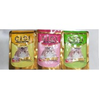 Cici pouch tuna red meat injelly pet food 85gr makanan kucing cat food