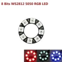 Round LED RGB 8bit WS2812 WS2812B 5050 Builtin Driver Neopixel