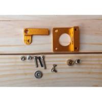 MK8 Extruder Stand Aluminum Alloy Block For Makerbot 1.75mm Short Hand