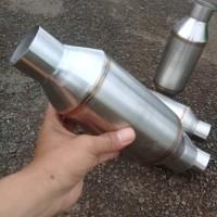 Resonator Stainlis - Resonator Knalpot Mobil manual - matic