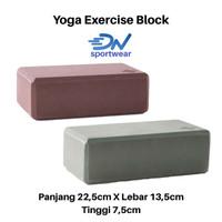 Balok yoga | yoga brick | yoga block perlengkapan olahraga yoga m - Dark grey