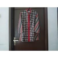 Blouse Batik Print Wanita Dua Motif