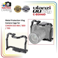 Ulanzi UURig C-EOS90D Vlog Camera Cage for Canon EOS 90D / 80D / 70D