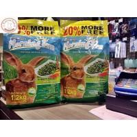 Makanan Kelinci / Rabbit Food MORNING SUN ALFALFA GRASS 1.2 KG
