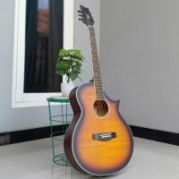Gitar Akustik Cort Singleround