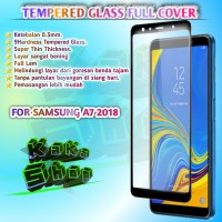 5D TEMPERED GLASS SAMSUNG A7 2018/A750 FULL SCREEN FULL GLUE FULLCOVER