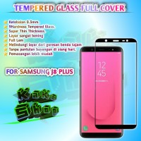 5D TEMPERED GLASS SAMSUNG J8 PLUS FULL SCREEN FULL GLUE FULLCOVER