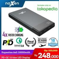 Naxen Powerbank 20.000 MAH Vigo Ultra LED Display QC 3.0 + PD 10W