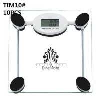 Timbangan Badan TIM10 KOTAK Kaca Elektronik Digital Weight Scale Max