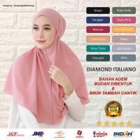 BERGO MARYAM DIAMOND Jilbab bergo Maryam diamond hijab Khimar bergo