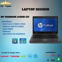 HP PROBOOK 6460B Laptop UNBK core i7 RAM 4gb Hdd 320gb