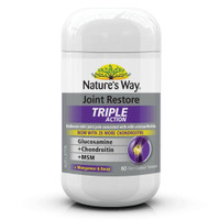 Natures Way Joint Restore Triple Action 60 Kp Glucosamine Chondroitin