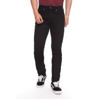 Tirajeans Solid Long Pants Denim TLP220B10007F18 BLACK