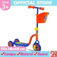 Ocean Toy PMB Skuter Roda Tiga - Biru Orange