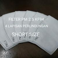 Filter Masker PM 2.5 KF94 (4 Lapisan) Adult Short Size - Pak Isi 2 Pcs