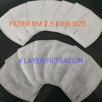 Filter Masker PM 2.5 KF94 (4 Lapisan) Kids Size - Pak Isi 2 Pcs