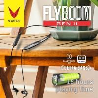 VYATTA FLYBOOM II SPORT BLUETOOTH EARPHONE HEADSET 5.0 - ULTRA BASS