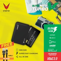 VYATTA MINI TURBO V VOOC 3.0 POWERBANK 22.5W - Huawei FCP, Vivo, QC3.0