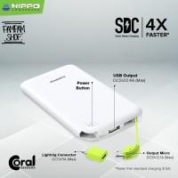 Hippo Power Bank Coral 6000MAH Powerbank 6000 mAh Original Ori XiaoMi
