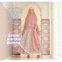 SYARI AISYAH BUNGA SALEM [Gamis 0121] TED Baju Gamis Wanita Terbaru