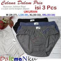 Paket 3 Helai Celana Dalam Pria Murah Kualitas Premium