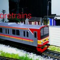 miniatur Kereta api KRL