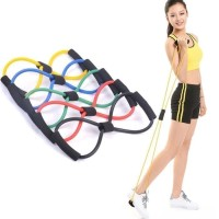 B61 Yoga & Pilates Stretch Rope/Tali Bantu Peregangan Otot Gym Fitness